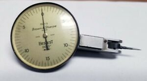Brown And Sharpe Bestest Indicator Model 7031 3 inv 36527