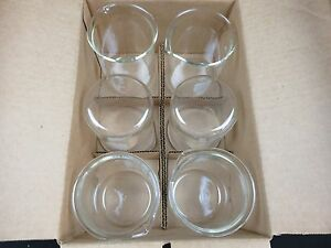 Pyrex 600ml Griffin Low Form Graduated Beaker 1000 600 Shelf Pack Of 6