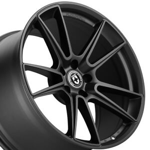 19 20 Hre Ff04 Flow Form Black Concave Wheels Rims Fits Lamborghini Gallardo