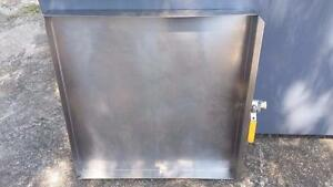 Used Hobart Rotisserie Hr7e Grease Drawer Parts 00 877932 00 877933
