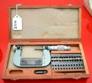 Brown And Sharpe Metric Micrometer No 210 12 Swiss Made inv 2970