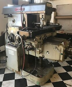 Hitachi Horizontal Milling Machine Model 3m W Mill Tooling Package 53 X 12