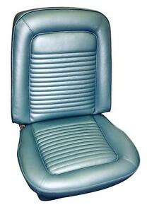 Cougar Standard Seat Upholstery 1968 For Front Buckets And Rear
