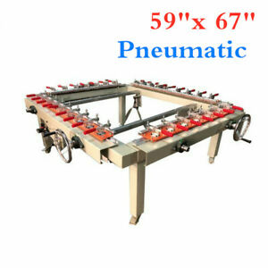 Best High Precise 59 x 67 Pneumatic Screen Stretcher By Sea