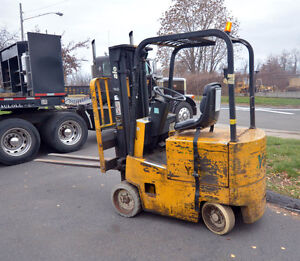 Yale Electric Forklift 3800 Lb Capacity inv 34949