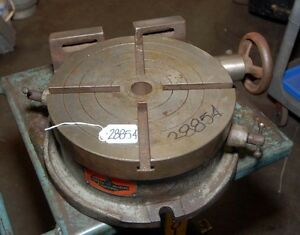 Universal Vise And Tool Company 12 Inch Rotary Table inv 28854