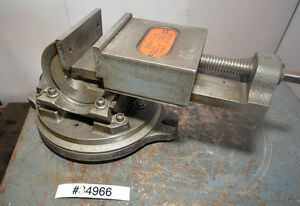 Universal Vise And Tool Company 3 Way Angle Machnist Vise inv 34966