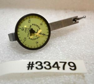 Federal Testmaster Dial Test Indicator T 1 inv 33479