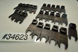 Lot Of 3 8 Inch Drive Crowsfoot Wrenches 7 16 Inch Size inv 34623