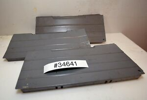 Large Lot Of 10 Lista Vidmar Style Drawer Dividers inv 34641