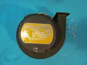 Rotron Centrifugal Fan Blower 115v 364as Ph 1 Squirrel Cage