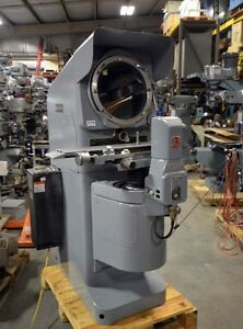 Jones And Lamson Optical Comparator inv 31196