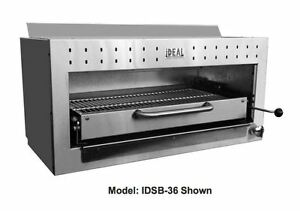 Nsf 36 Ins Electric Gas Salamander Finisher Broiler Melter Made In Usa