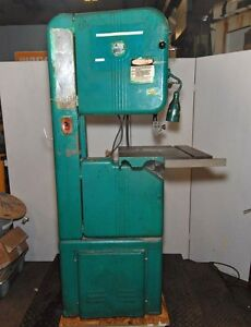 Walker Turner 16 Wood metal Vertical Band Saw 78 010 inv 30492