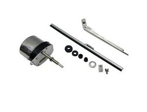 Universal Windshield Wiper Motor Kit Hot Rod Street Rod Jeep Boat Chevy Ford