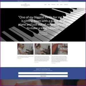 Piano Website Business For Sale Upto 1 611 28 A Sale Free Domain Hosting