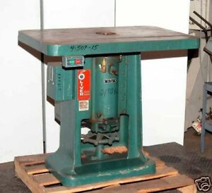 Oliver 285 t Single Spindle Shaper inv 3746