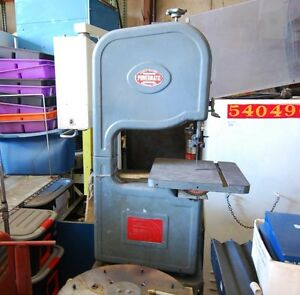 Powermatic Model 143 Combination Vertical Band Saw inv 29362