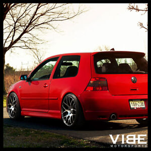 18 Avant Garde M310 Machined Mesh Wheels Rims Fits Vw Volkswagen Golf Gti Mk5