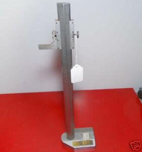 Moore Wright Height Gage 0 19 Inch 0 51 Mm inv 21791