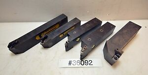 Lot Of Five Kennametal Turning Tool Holders inv 36092