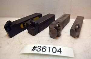 Lot Of Four Turning Tool Holders inv 36104