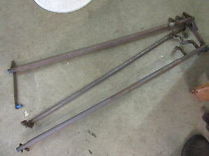 1957 Oldsmobile 98 88 Interior Front Power Seat 6 Way Bar Rod Set Parts Rat Rod