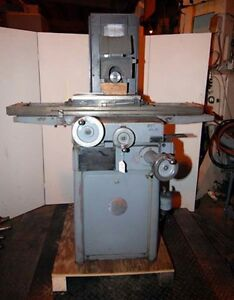 Reid Surface Grinder Model 618ha inv 18727