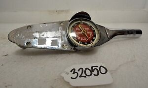 Snap on Torq Meter 0 150 Inch pounds inv 32050