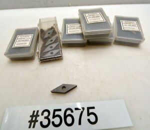 Lot Of Accurate Tipped Carbide Inserts inv 35675