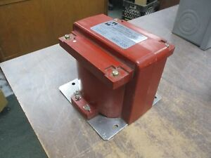 Hammond Type Vm50 Voltage Transformer 133432 Ratio 4800 120 50kv Bil 60hz Used