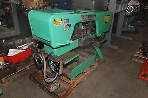 Kysor Johnson Kj 10 Horizontal Band Saw inv 28092
