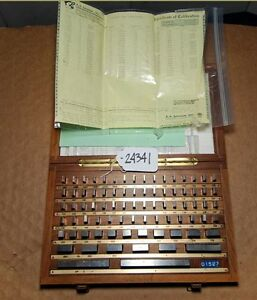 Set Of A a jansson Gage Blocks 81 Pieces inv 24341