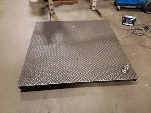 Ohaus 48 X 48 In Floor Scale inv 36448