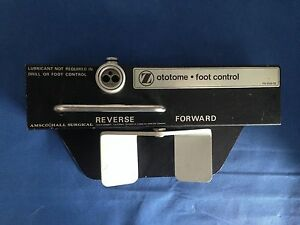 Zimmer Hall 5056 03 ototome Drill Foot Control