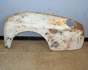 1941 1948 Ford Woody Station Wagon Left Rear Fender Used Oem Very Good Condition