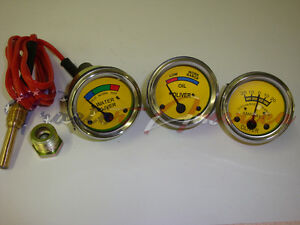 Oliver Tractor Gauge Set Amp Oil Temperature Super 44 55 66 77 88 440 660