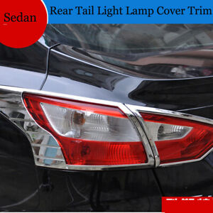 For Ford Focus 3 2012 2013 Sedan Chrome Rear Light Lamp Tail Light Lamp Cover