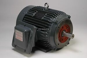 10 Hp Explosion Proof Electric Motor 215tc 3 Phase 1800 Rpm Hazardous Location