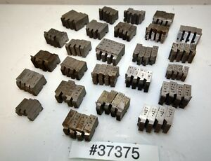One Large Lot Of Geometric Die Head Chasers inv 37375