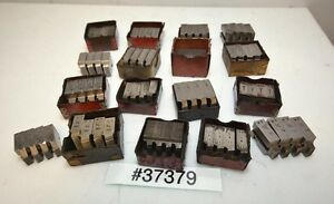 One Large Lot Of Geometric Die Head Chasers inv 37379