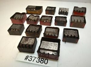 One Large Lot Of Geometric Die Head Chasers inv 37380