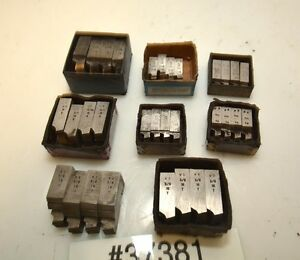 One Large Lot Of Geometric Die Head Chasers inv 37381