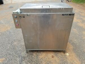Flexo Wash 2 Place Rotary Screen Printing Screen Washer Pk 92 2