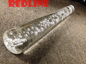 Crystal Bubble Shift Knob Jdm Vip 12 Round Gear Stick Shifter Drift Clear