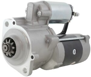New Starter For Montana Tractor 5720 5740 W S4sd 3 3l Mitsubishi Diesel M2t62271