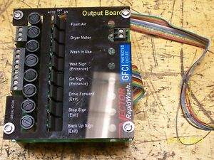 Vector Rapidwash Output Circuit Board 1decal vc124
