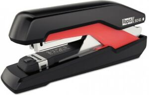 Omnipress Stapler Heavy Duty Full Strip Home Office Supplies 60 Sheet Black Red