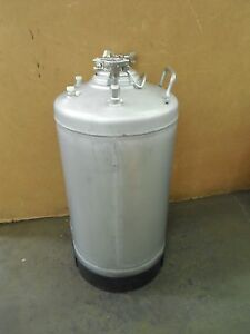 Alloy Products 10 Gallon Stainless S s Pressure Vessel Pot 170psi 316l