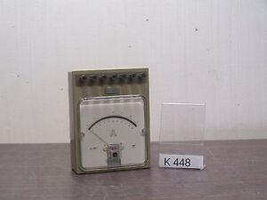 Aoip 1h411 Amperemeter Dc Ammeter 0 01 To 10a K448